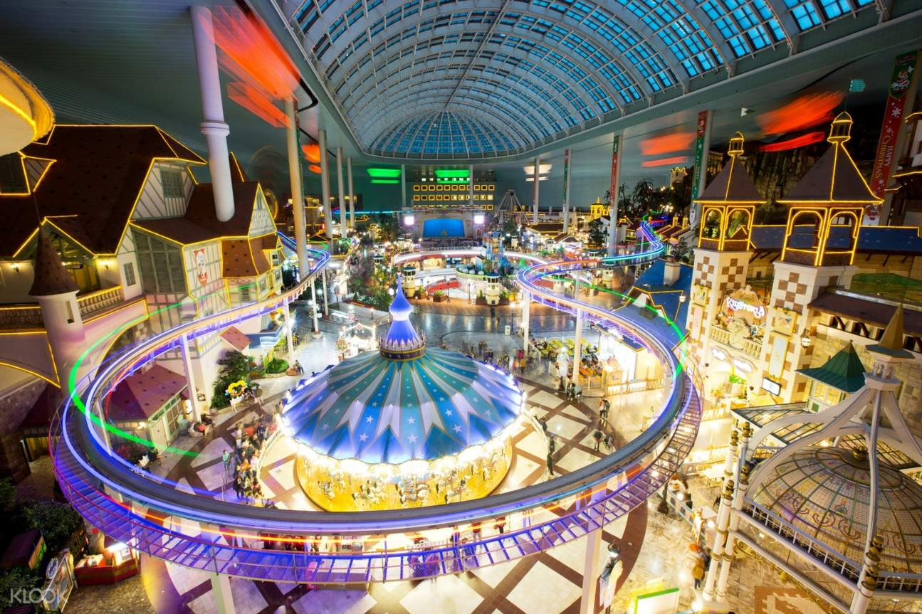 lotte world indoor attractions